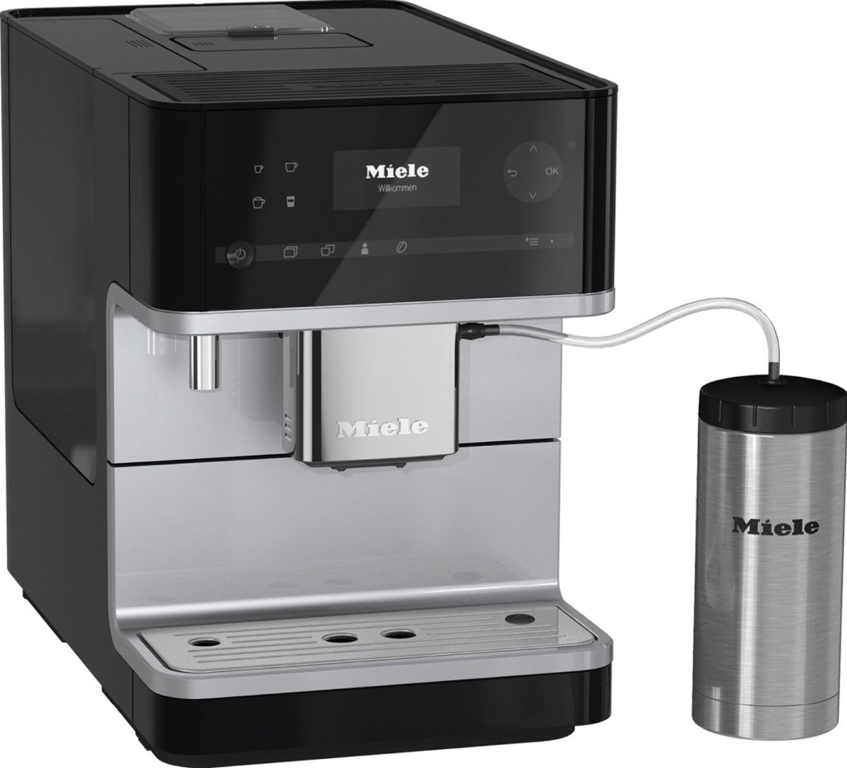 Cm 6350 Countertop Coffee Machine With Onetouch For Two Feature And Integrated Cup Warmer