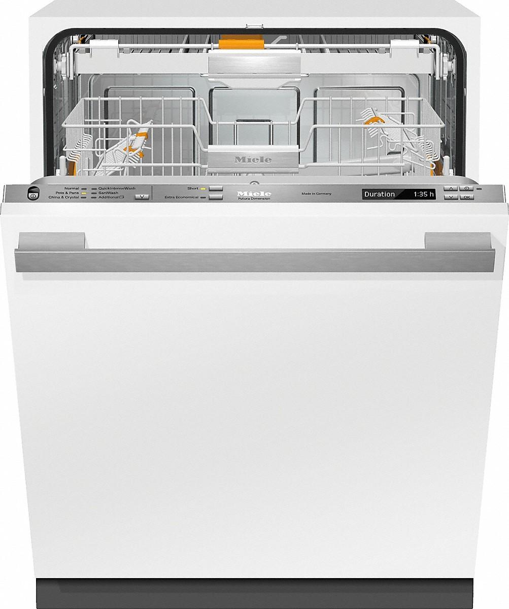 miele g 6785 scvi am fully integrated full size dishwasher. Black Bedroom Furniture Sets. Home Design Ideas