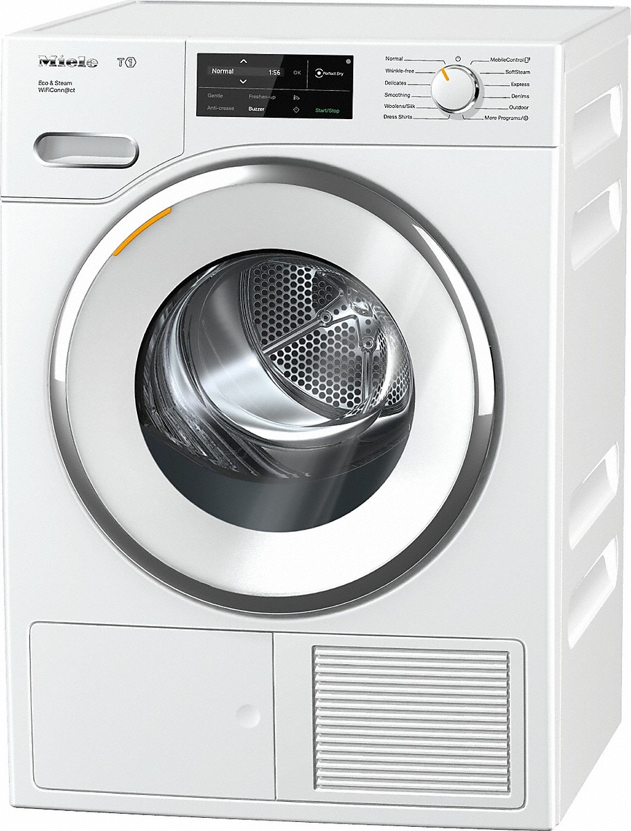 miele twi180 wp eco steam wificonn ct t1 heat pump tumble dryer. Black Bedroom Furniture Sets. Home Design Ideas